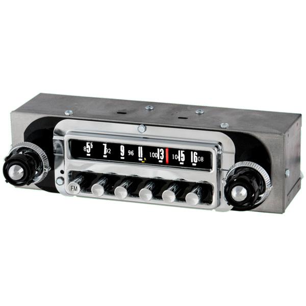 1954 Ford Radio With Bluetooth OE Replica: 183401B