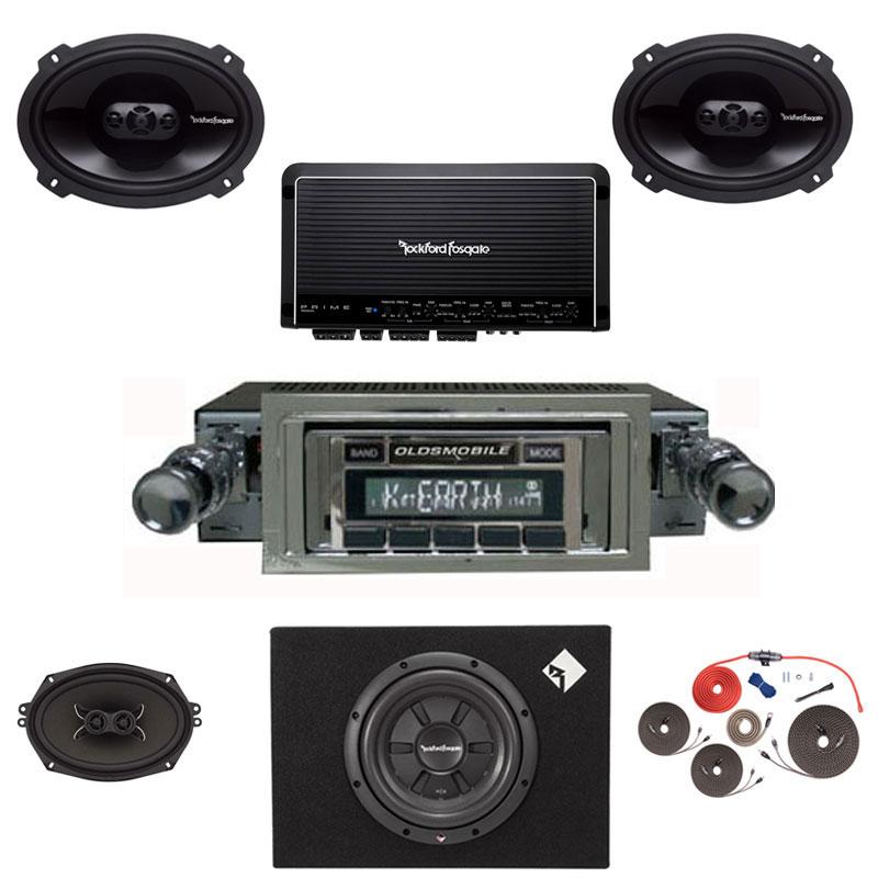 1957-1958 Oldsmobile Rockford Fosgate Premium Stereo Kit