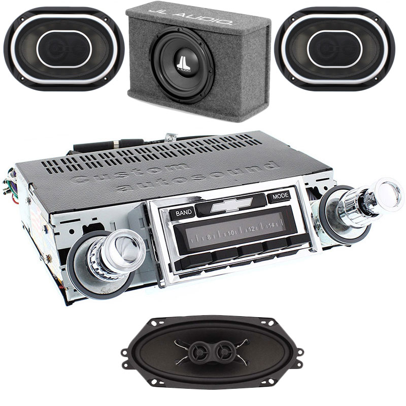 1961-1962 Impala JL Audio Stereo Kit