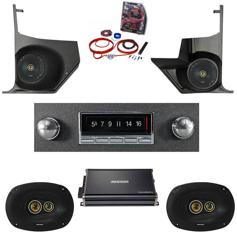 1966-1967 Cutlass Kicker Stereo Package