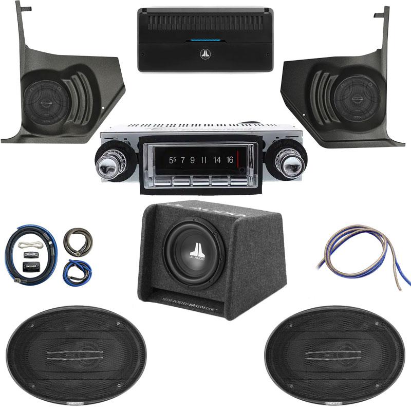 1964-65 BUICK SKYLARK/GS Hertz Cento Premium Stereo Kit