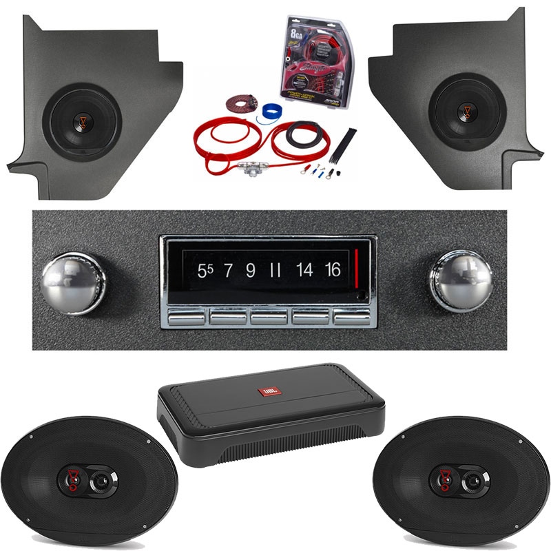 1964-1965 Ford Falcon JBL Premium Stereo Kit