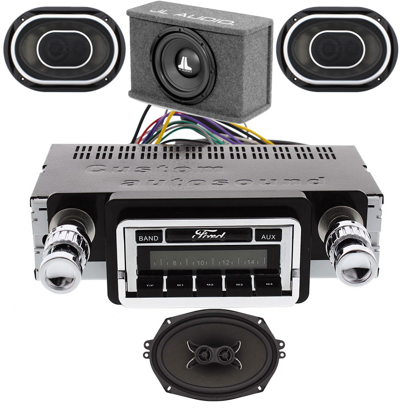 1964-1965 Ford Falcon JL Audio Stereo Kit