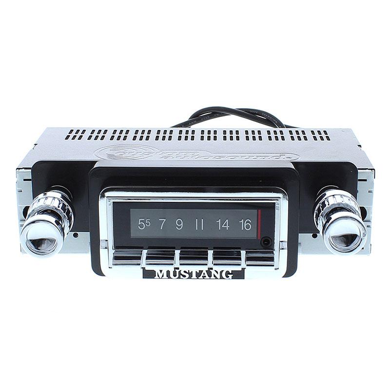 1964-1966 Mustang Radio With Bluetooth USA-740: CAM-MS-USA-740