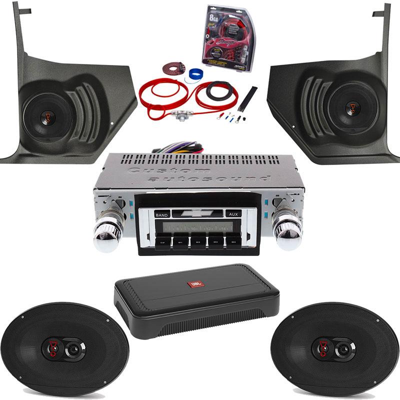 1965 Chevelle JBL Premium Stereo Kit