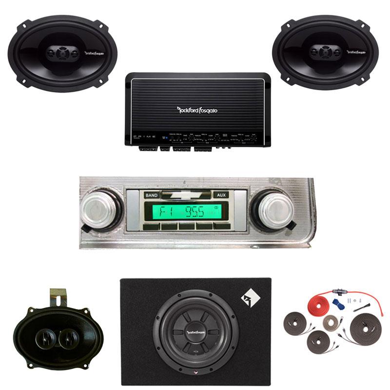 1964 Chevelle Rockford Fosgate Premium Stereo Kit
