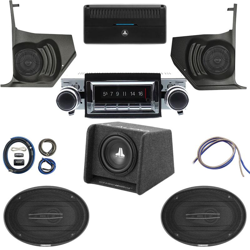 1962-1964 Cutlass Hertz Cento Premium Stereo Kit