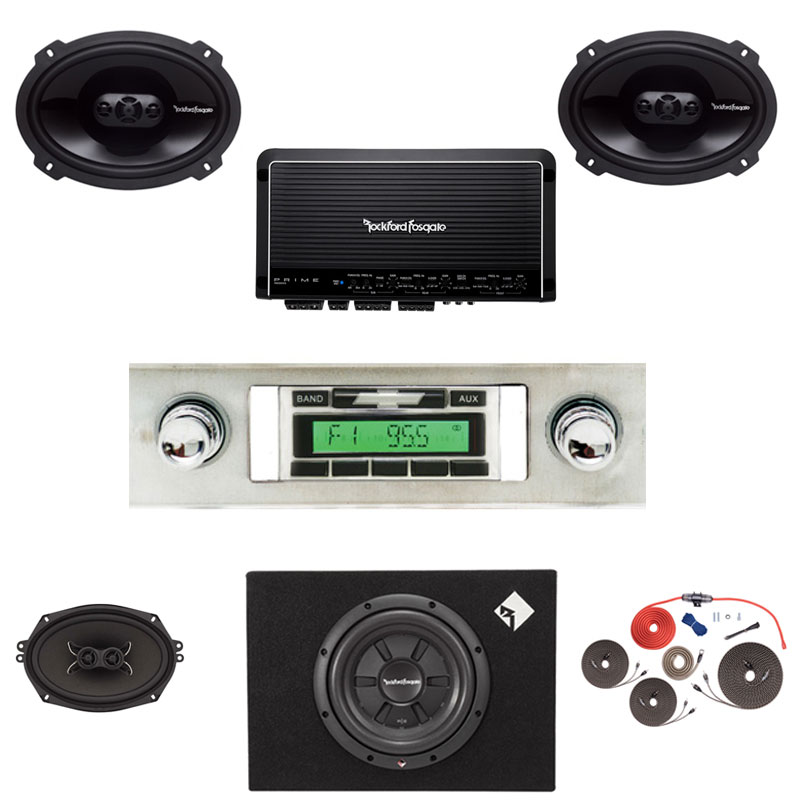 1965 Impala Rockford Fosgate Premium Stereo Kit