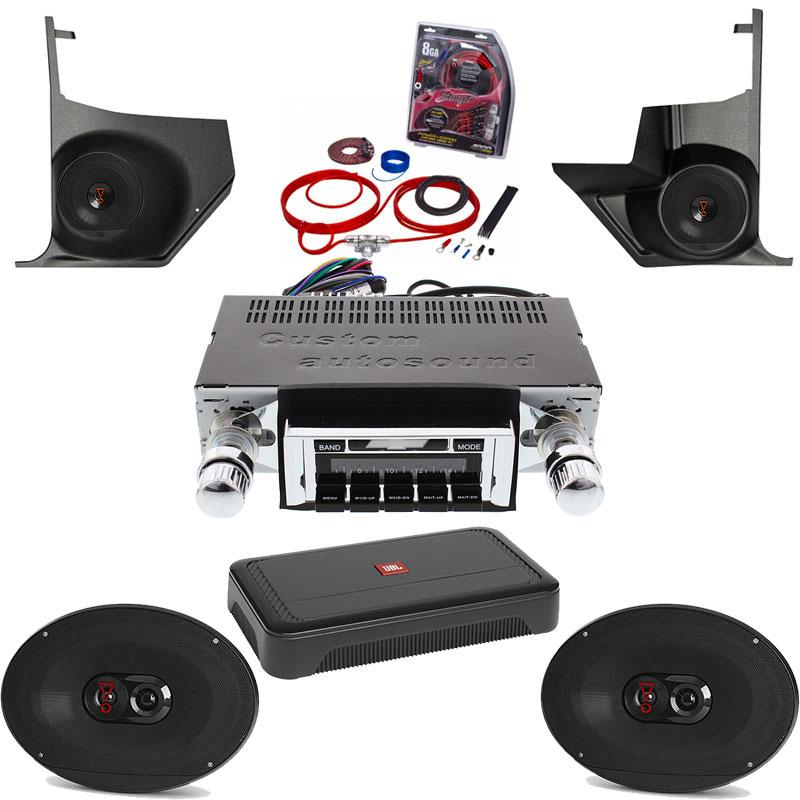 1966-1967 Chevelle JBL Premium Stereo Kit