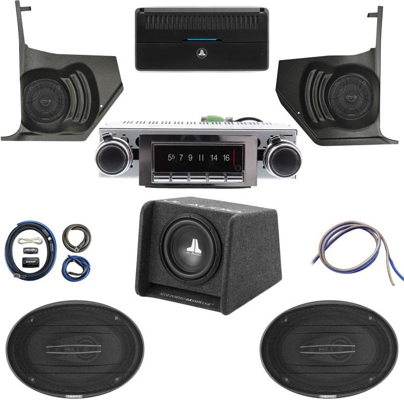 1966-1967 Cutlass Hertz Cento Premium Stereo Kit