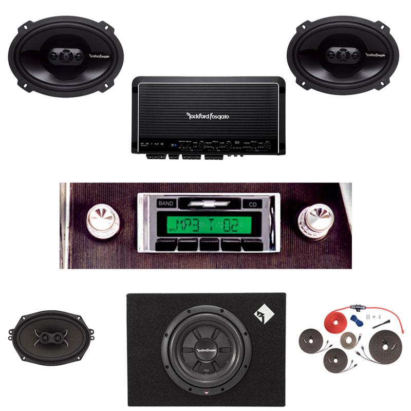 1966 Impala Rockford Fosgate Premium Stereo Kit