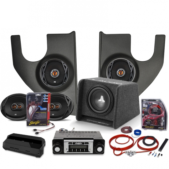 1967-1972 Chevy Truck JBL Stereo Package