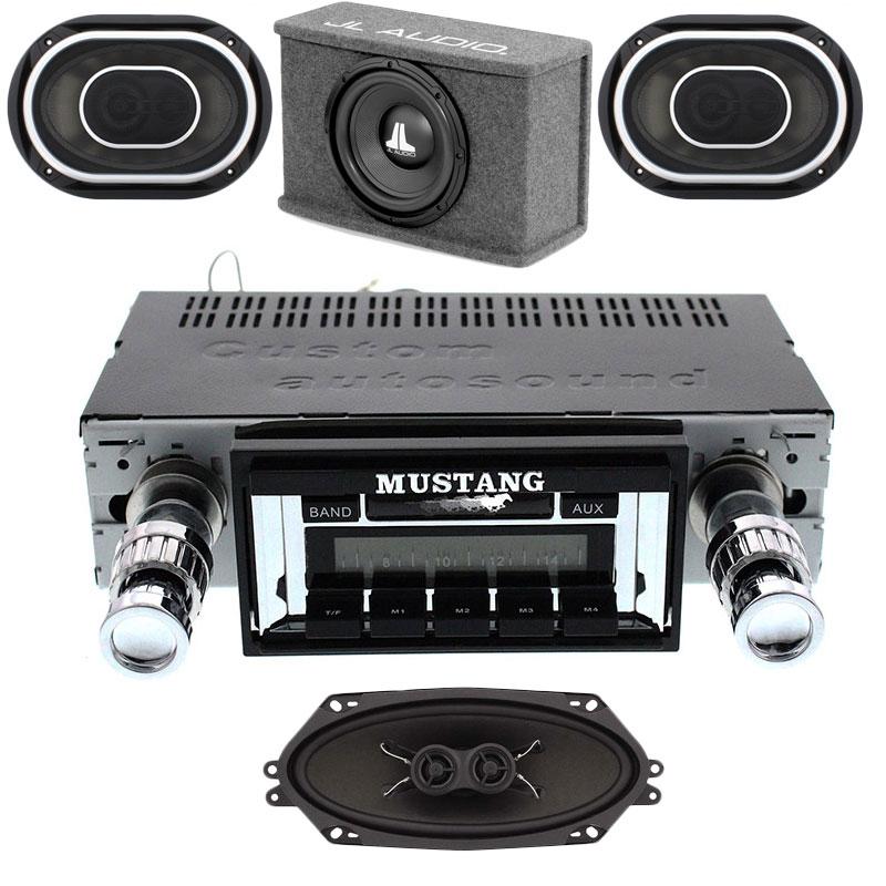 1967-1973 Mustang JL Audio Stereo Kit