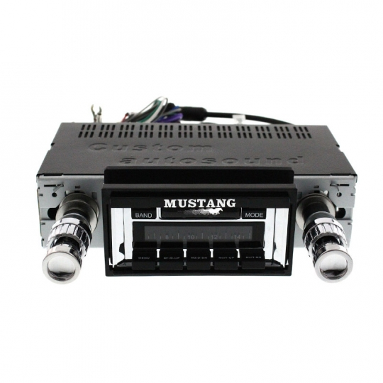 Custom Autosound Stereo compatible with 1967-1973 Ford Mustang USA-630 II High Power 300 watt AM FM Car Stereo//Radio