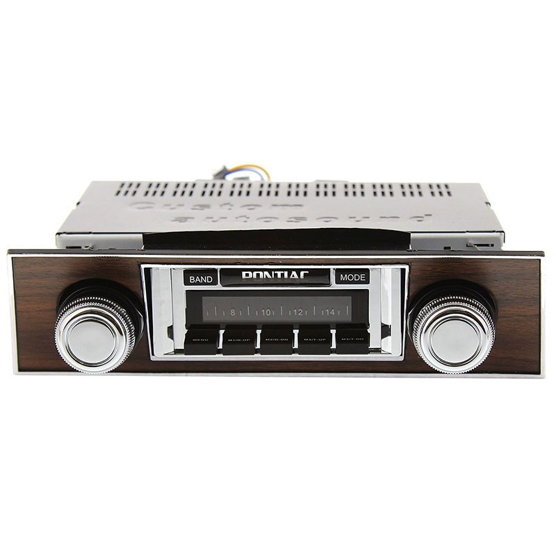 Pontiac Firebird Radio With Walnut Bezel Usa