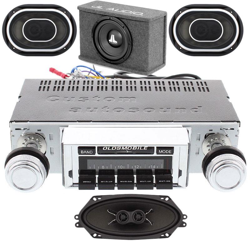 1968-1969 Cutlass JL Audio Stereo Kit