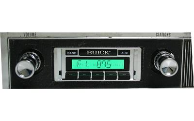 1968 Corvette Radio 1 - Buick Skylark Radio Usa - 1968 Corvette Radio 1