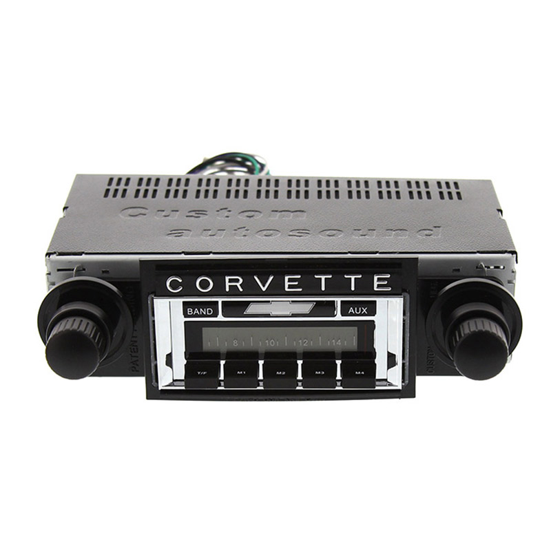 1968 Corvette Radio 1 - Corvette Radio Usa - 1968 Corvette Radio 1