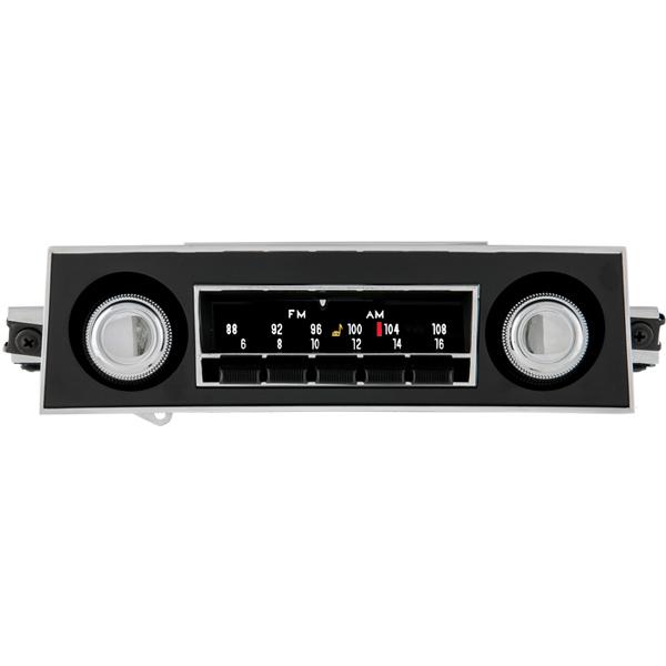 1968 Corvette Radio 1 - Firebird Radio With Bluetooth - 1968 Corvette Radio 1