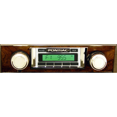 1968 Corvette Radio 1 - Pontiac Firebird Radio Usa Burlwood - 1968 Corvette Radio 1
