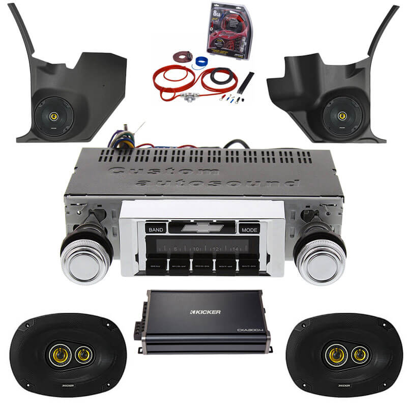 1969-1972 Chevelle Kicker Premium Stereo Kit