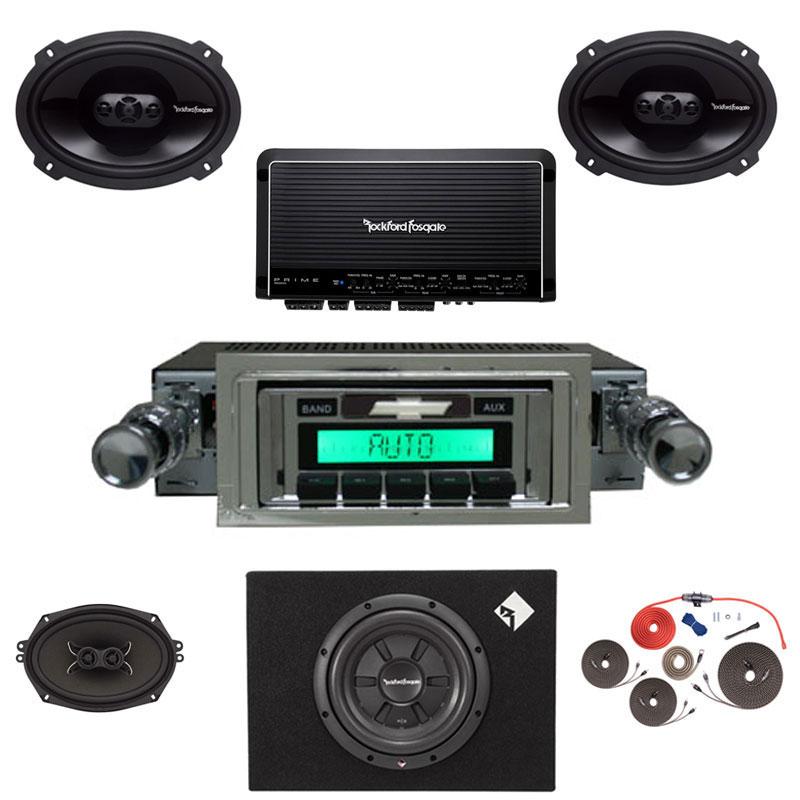 1970-1972 Monte Carlo Rockford Fosgate Premium Stereo Kit