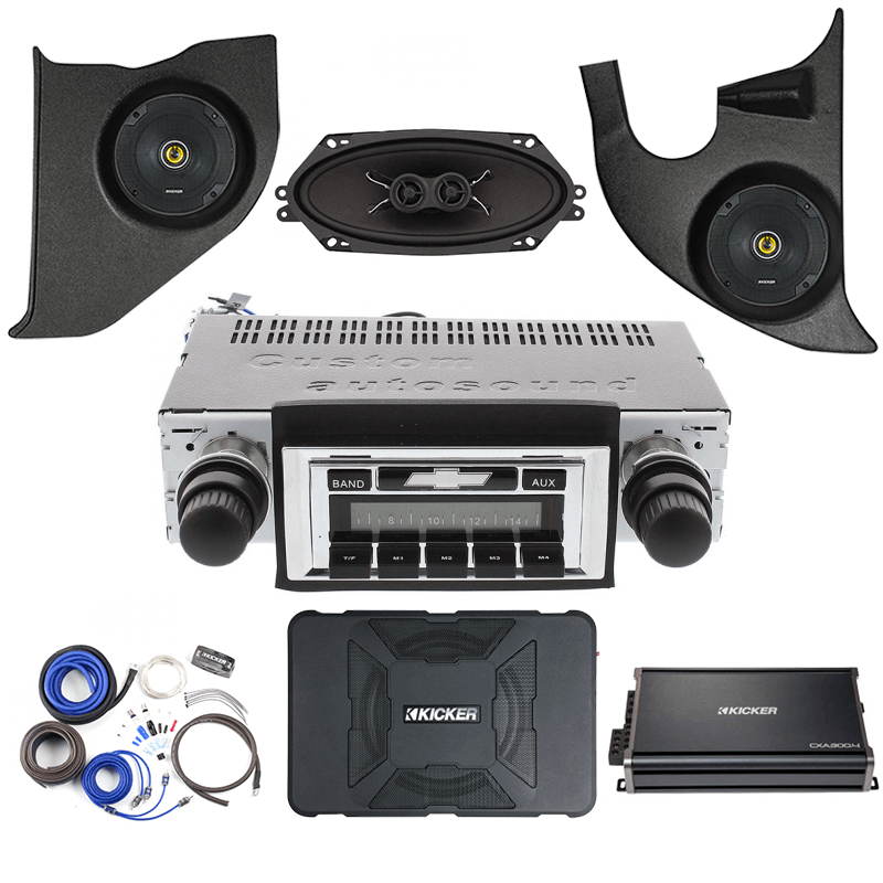1973-1979 Chevy Truck Kicker Stereo Kit