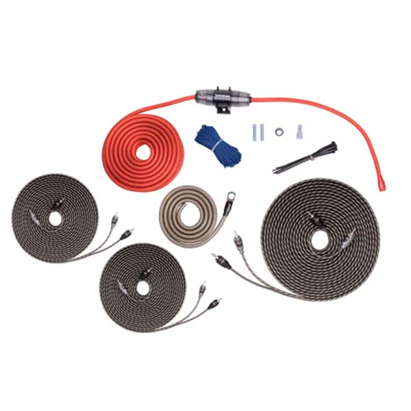 5 Channel Rockford Fosgate 8 AWG Amp Wiring Kit w/ RCA's on monoblock amp wiring, 5 channel subwoofer, speaker amp wiring, car stereo amp wiring, 1000 watt amp wiring, 5 channel radio,