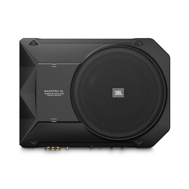 Jbl Bass Pro Sl 8 U0026quot  Under Seat Enclosed Subwoofer  Basspro