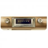 1953 1954 Chevy Belair USA-630 am//fm Aux imput USB Radio 53 54 w//OEM pushbuttons