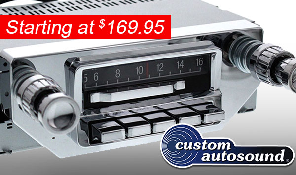 Replacement Radios For Classic Cars
