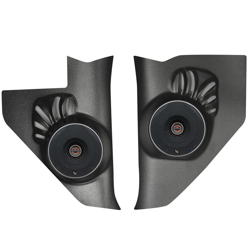 Infinity Chevy Kick Panel Speakers on 1984 Buick Lesabre