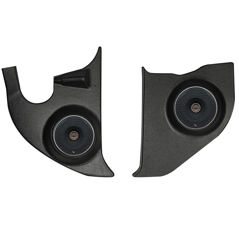 Infinity Chevy Truck Kick Panel Speakers on 1972 Buick Lesabre