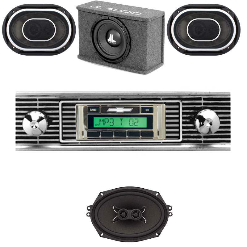 1956 Chevy JL Audio Stereo Kit