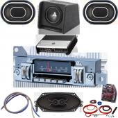 plymouth barracuda radios mopar stereos classic car stereos rh classiccarstereos com Dodge Durango Wiring Harness Diagram Ford Factory Radio Wiring Harness
