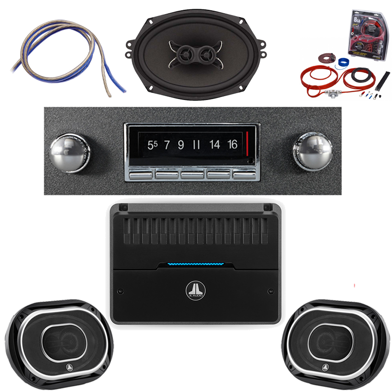 1953-1954 Ford JL Audio Stereo Kit