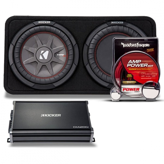 Kicker Subwoofer Kit - CompR & Comp RT