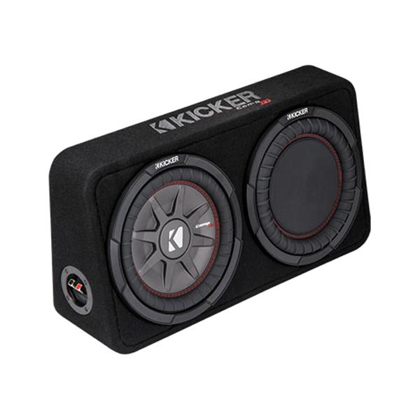 "Polaris General 1000 >> Kicker Comp RT Single 10"" Low Profile Subwoofer Enclosure: 43TCWRT102"