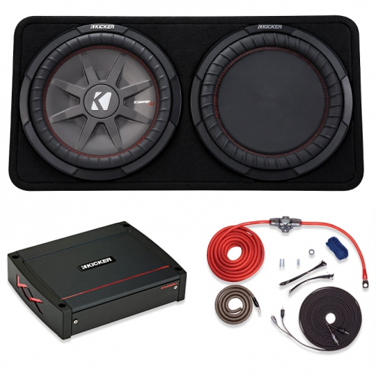 Remarkable Kicker Subwoofer Kit One 12 Comprt Subwoofer 800 Watt Kicker Kx Wiring Cloud Pimpapsuggs Outletorg