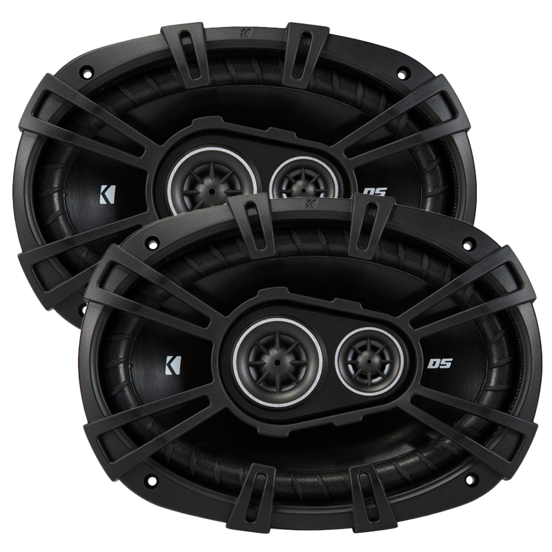 Kicker Ds Series 6x9 Speakers 3 Way Pair 43dsc69304