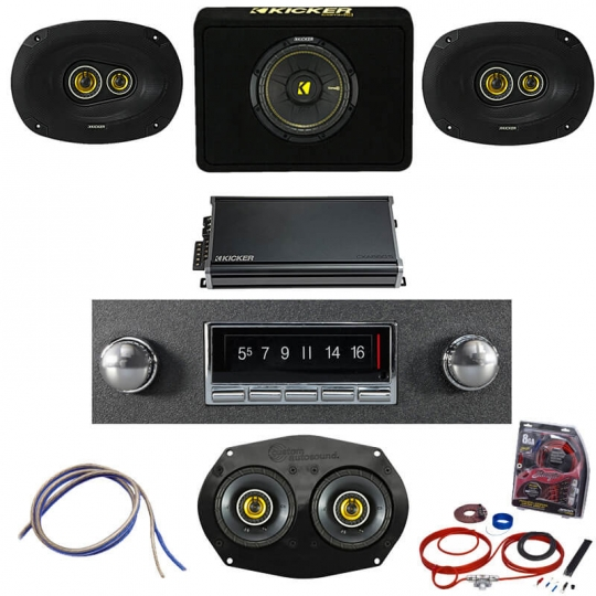 Classic Truck Stereo Packages