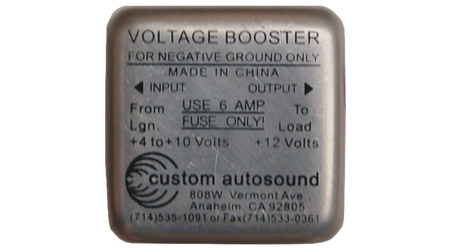 1960 Lincoln Continental >> Negative Ground 6V to 12V Converter: NGVB-HC