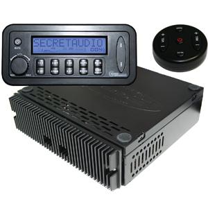 Secretaudio Hidden Classic Car Radio System Classic Car Stereos