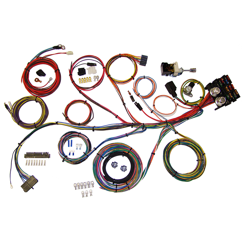 American Autowire Power Plus 13 Universal Wiring System