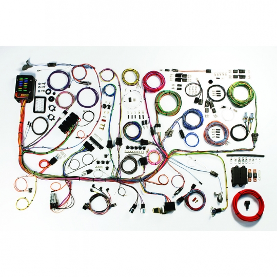 American Autowire 1967-68 Ford Mustang Clic Update Complete Wiring on