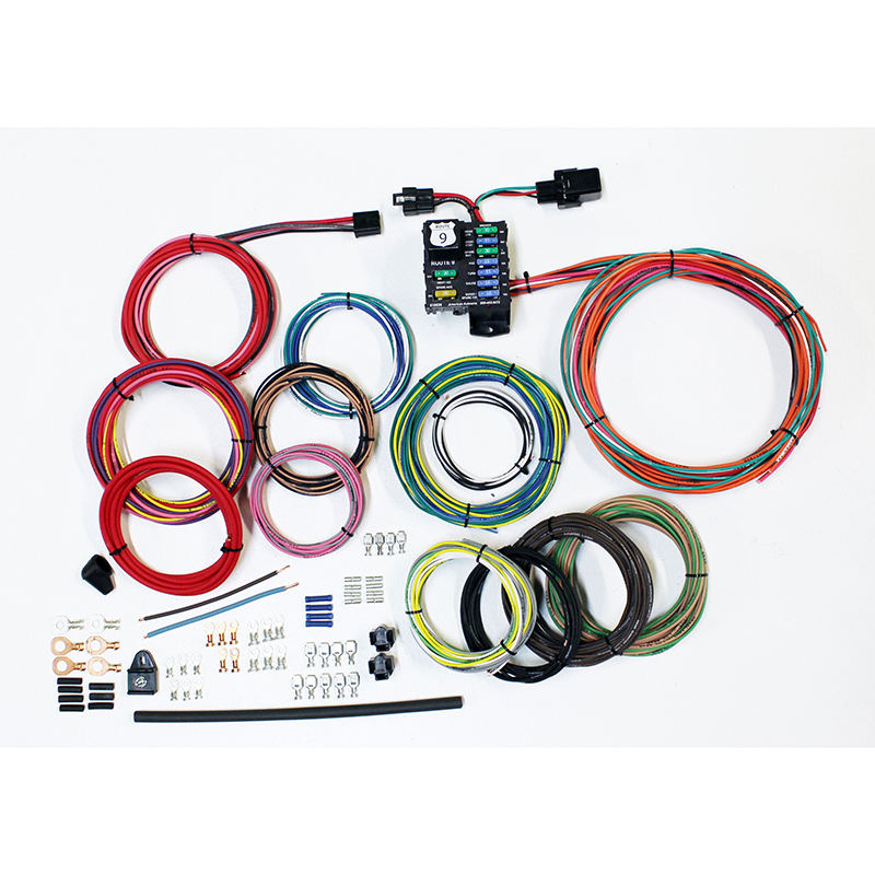 American Autowire Route 9 Universal Wiring System  510625