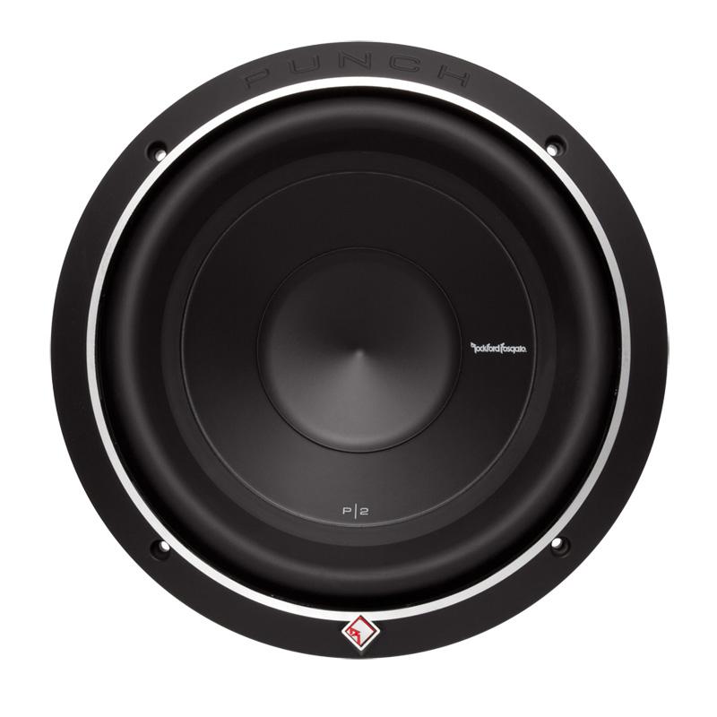 """Rockford Fosgate P2D4-10 P2 10"""" Subwoofer 4 Ohm Dual Voice"""