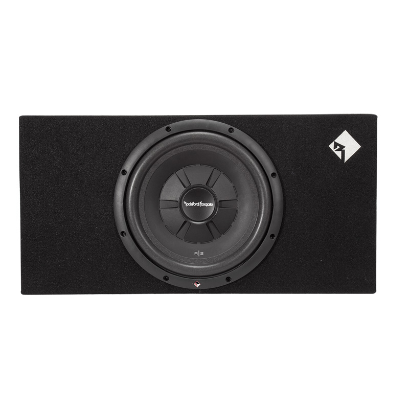 "Buick Accessories Rockford >> Rockford Fosgate R2S-1X12 R2 Shallow 12"" Loaded Enclosure: R2S-1X12"