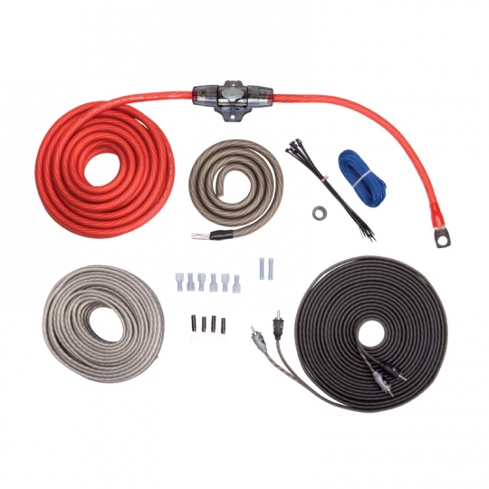 Rockford Fosgate RFK4X (Complete Kit) 4 AWG Complete Amp Wiring Kit on pt cruiser car kit, amp cable, amp installation kit, car amp kit, amp connectors, amp wire kit, amp install kit,