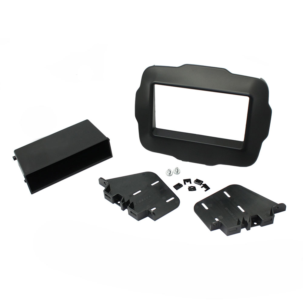 Scosche 2015 Up Jeep Renegade Iso Double Din Pocket Dash Kit Accessories Cr1300b